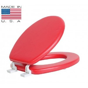 מושב מרופד אדום
