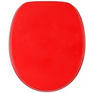 מושב אסלה עץ אדום