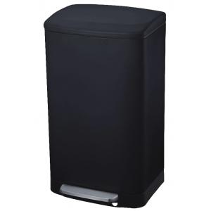 פח מרובע 30 ליטר שחור