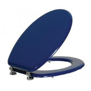 מושב אסלה עץ כחול