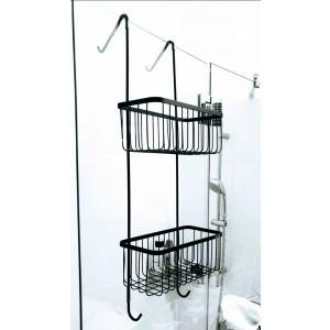מקלחון תליה שחור